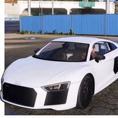Parking Audi R8 Simulator Games 2018 icon