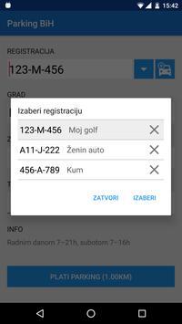 Parking BiH screenshot 1
