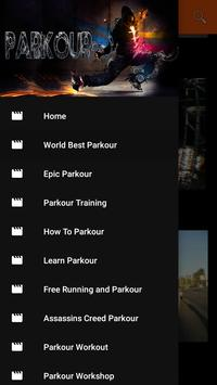 Parkour Training poster