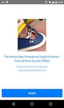 The Airway App apk screenshot