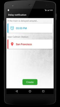 Schedule for Caltrain apk screenshot