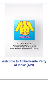 Ambedkarite Party of India poster