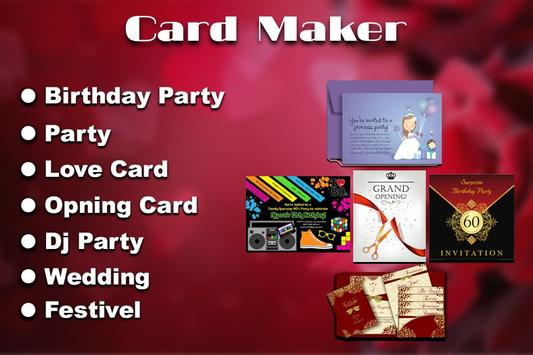 Invitation maker apk download free photography app for android invitation maker poster invitation maker apk screenshot invitation stopboris Choice Image