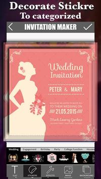 Invitation maker apk download free photography app for android invitation maker poster invitation maker apk screenshot stopboris Choice Image