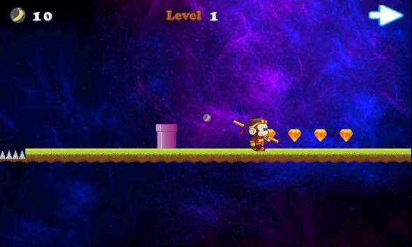 Monkey Space Adventures screenshot 2
