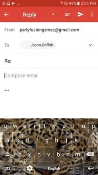 Wild Leopard Keyboard Theme Free Themes screenshot 4
