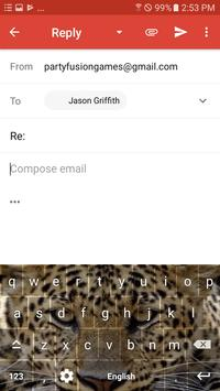 Wild Leopard Keyboard Theme Free Themes screenshot 8