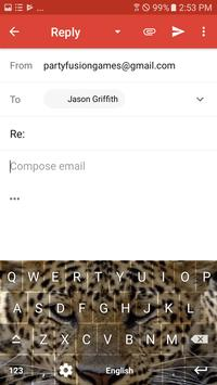 Wild Leopard Keyboard Theme Free Themes screenshot 9