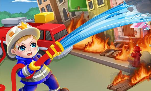 Baby Fire Hero: Forest Rescue! poster