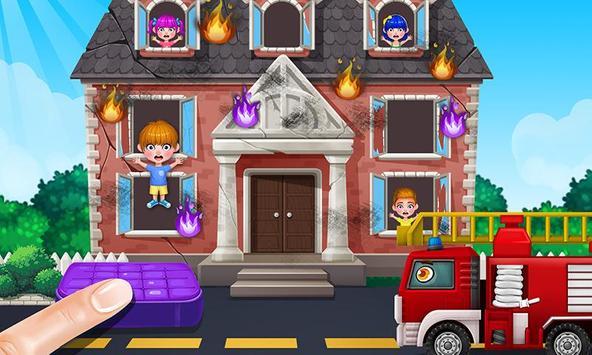 Baby Fire Hero: Forest Rescue! apk screenshot