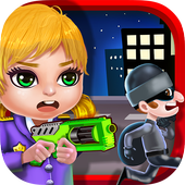 Little Police Hero: Fun Chase! icon