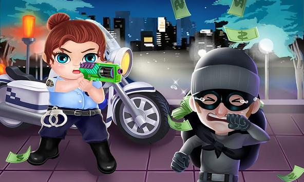 Little Police Hero: Fun Chase! poster