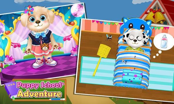 Puppy School Adventure apk screenshot