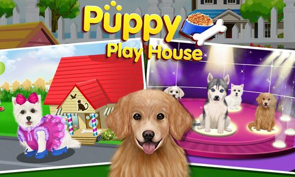 Puppy Dog Sitter - Play House poster