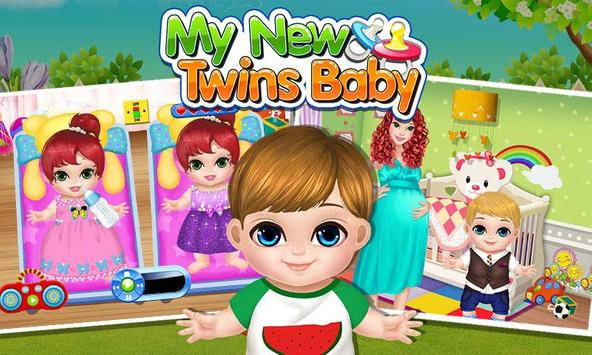 My New Baby Twins poster