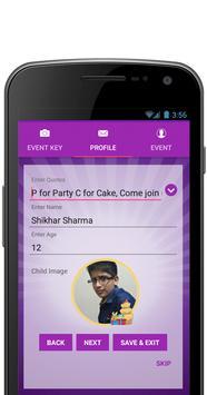 Birthday Party Invitation apk screenshot