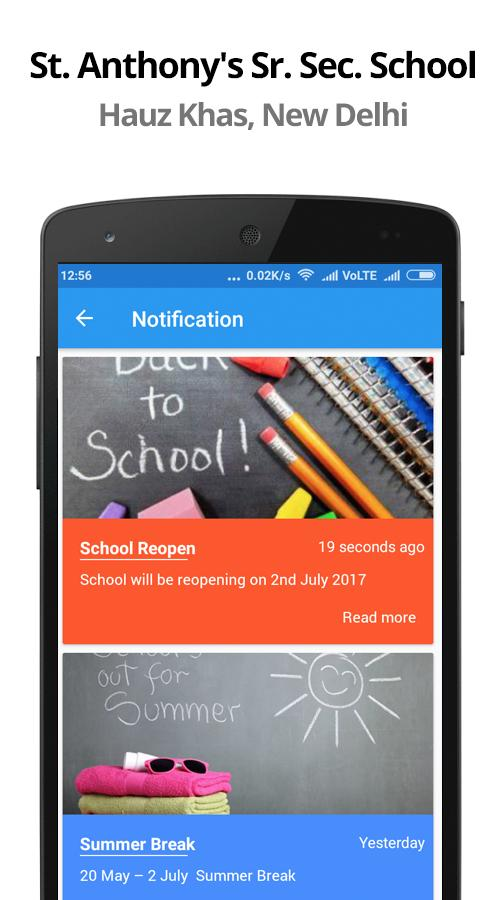 St  Anthony's School Hauz Khas for Android - APK Download