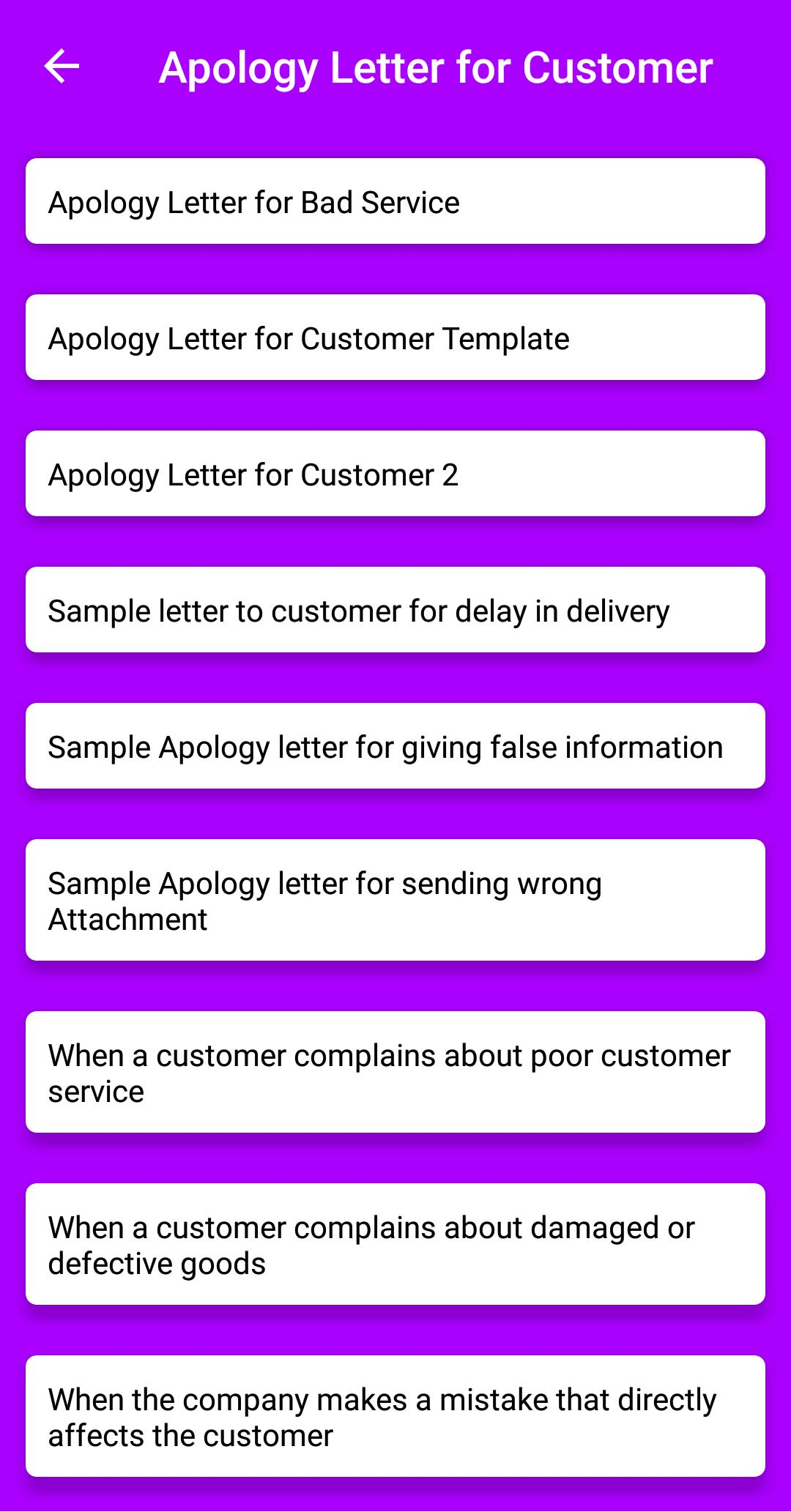 Apologize Letter To Customer For Bad Service.Write Apology Letter For Android Apk Download