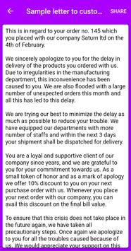 Write Apology Letter for Android - APK Download