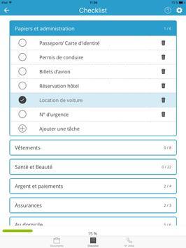 Porte documents et checklist apk screenshot