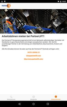 PartnerLIFT apk screenshot