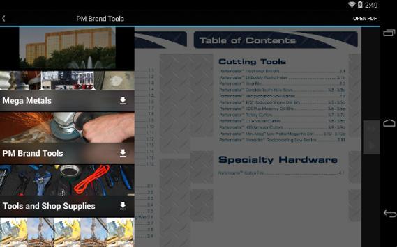 Partsmaster Catalogs Find it! apk screenshot