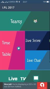 Vivo IPL 2017 apk screenshot