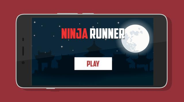 Advance Ninja Runner poster