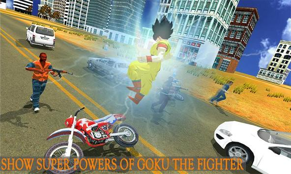 Saiyan Battle: Dragon Goku Superhero Warrior poster