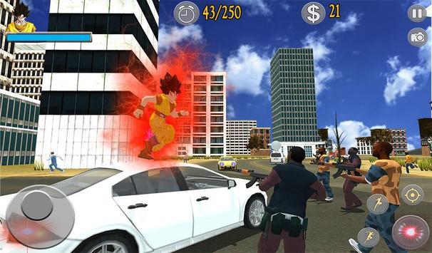 Saiyan Battle: Dragon Goku Superhero Warrior screenshot 10