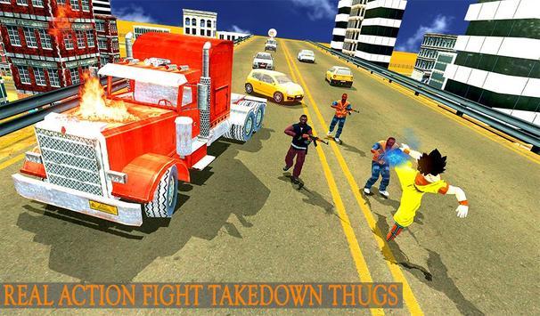 Saiyan Battle: Dragon Goku Superhero Warrior screenshot 11