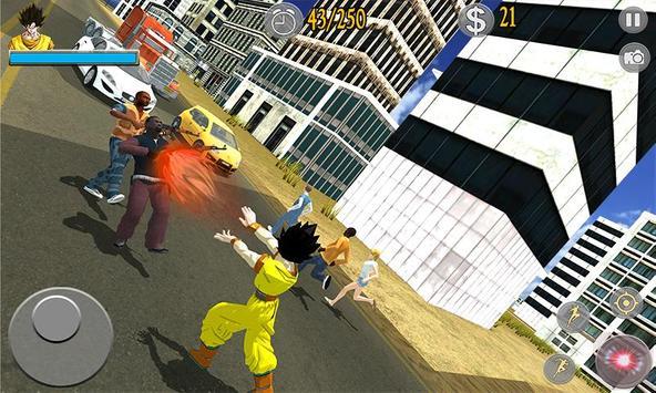 Saiyan Battle: Dragon Goku Superhero Warrior screenshot 1