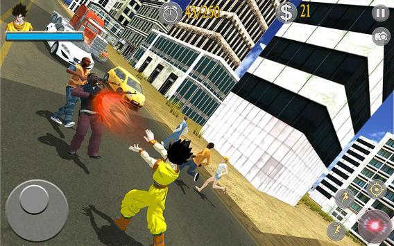 Saiyan Battle: Dragon Goku Superhero Warrior screenshot 5