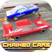 Impossible Chained Cars Stunt Game icon