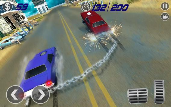 Impossible Chained Cars Stunt Game screenshot 6