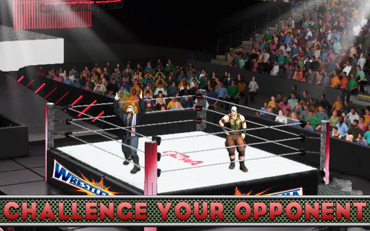 USA Wrestling Revolution - Rumble Fight Game for Android