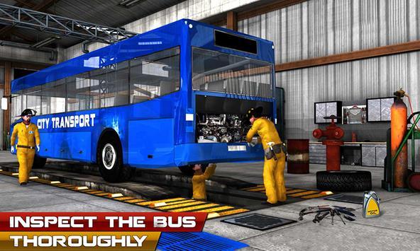 Bus Mechanic Auto Repair Shop-Car Garage Simulator poster