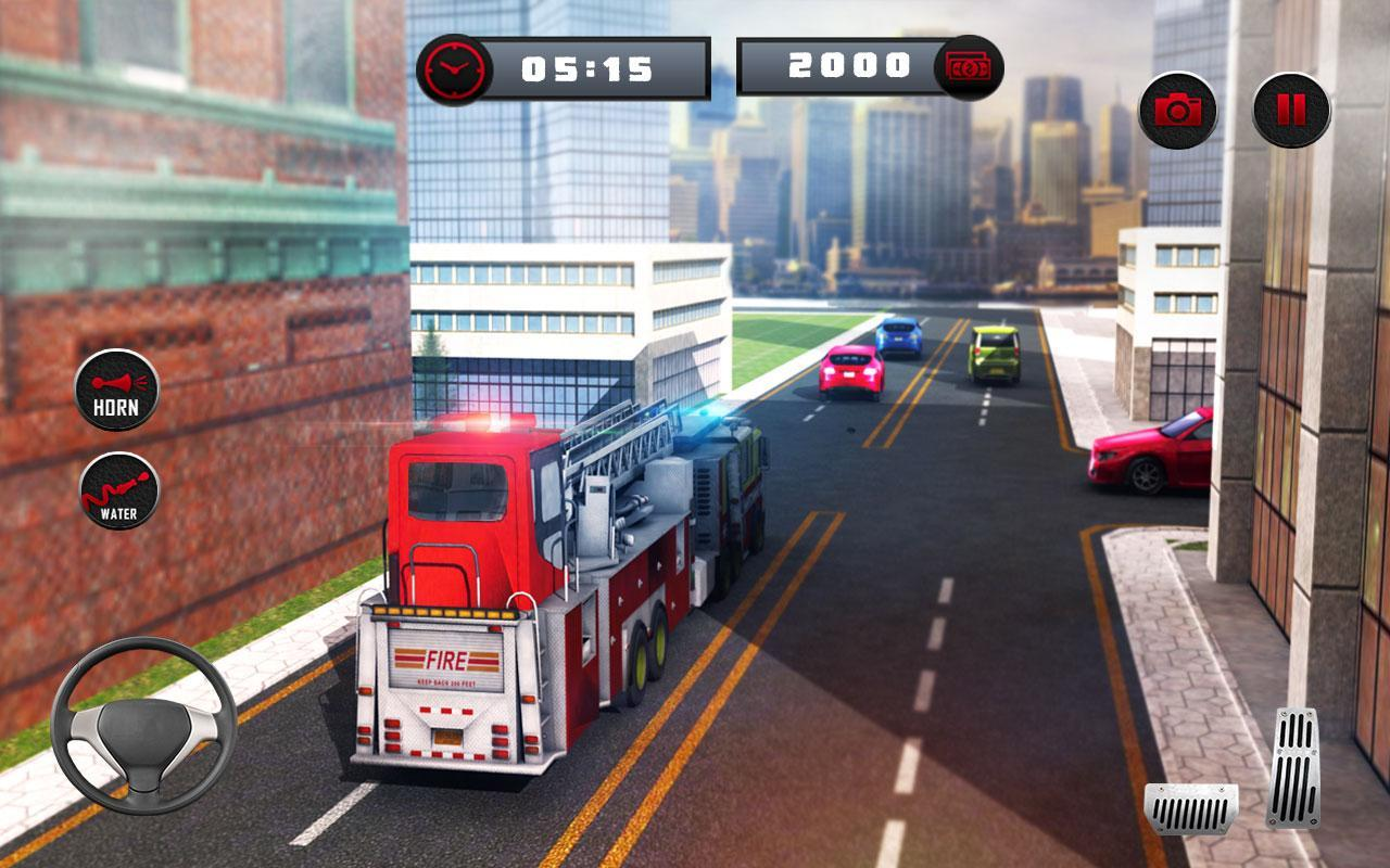 🚒 Rescue Fire Truck Simulator: 911 City Rescue for Android - APK