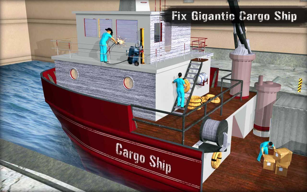 Kapal pesiar Montir Simulator Bengkel Perbaikan screenshot 7