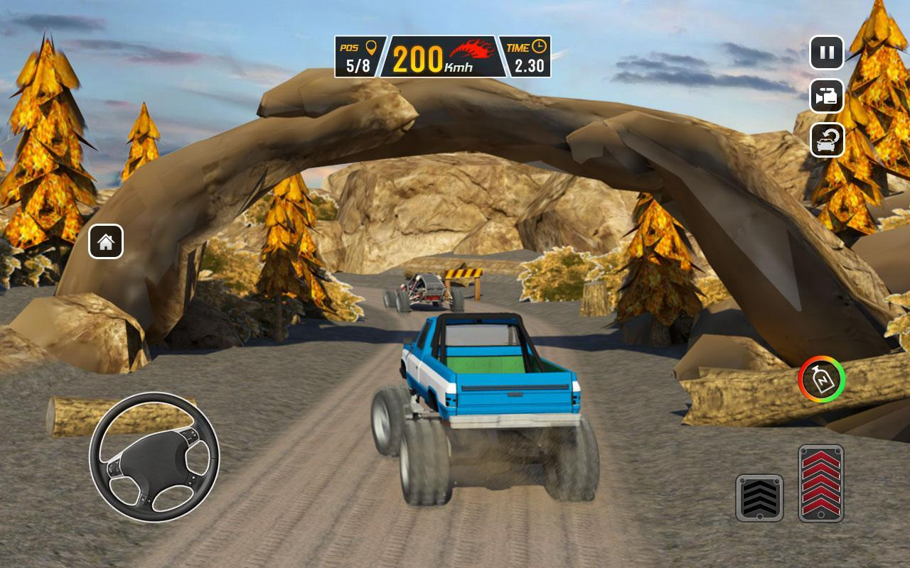 Offroad Dune Buggy Car Racing Outlaws: Mud Road for Android
