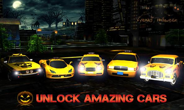 Halloween Night Taxi Driver 3D screenshot 1