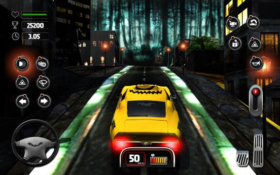 Halloween Night Taxi Driver 3D screenshot 7