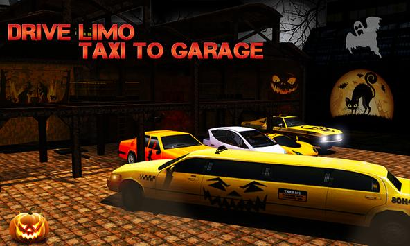 Halloween Night Taxi Driver 3D screenshot 4