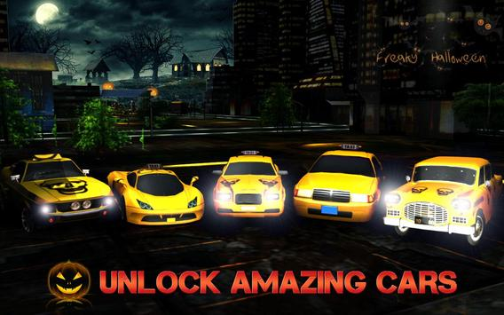Halloween Night Taxi Driver 3D screenshot 6