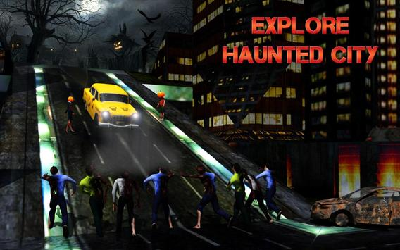 Halloween Night Taxi Driver 3D screenshot 8