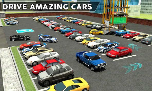 Multi-Level Smart Car Parking: Car Transport Games apk screenshot