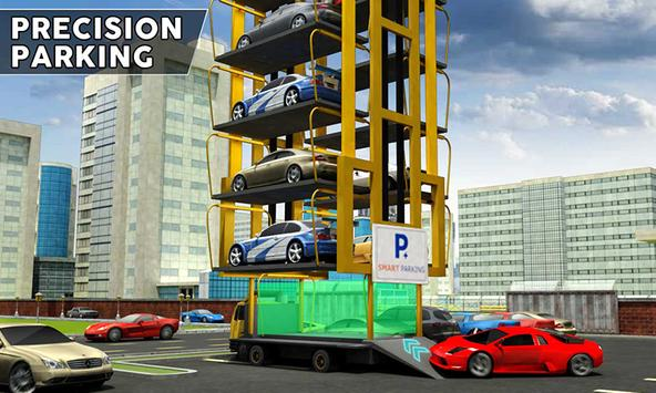 Multi-Level Smart Car Parking poster