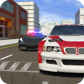 Real Police Gangster Chase: Police Cop Car Games icon