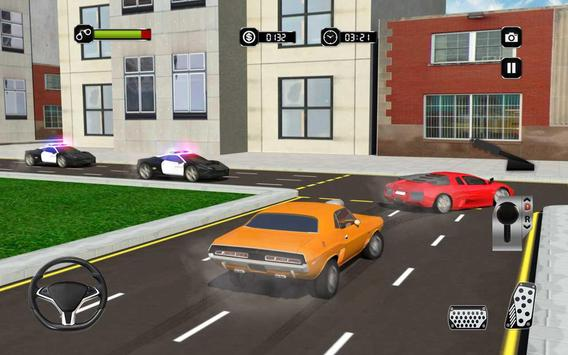Real Police Gangster Chase: Police Cop Car Games apk screenshot