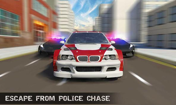 Real Police Gangster Chase: Police Cop Car Games poster